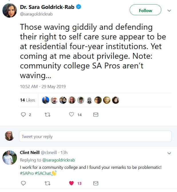 cc pros weird tweet